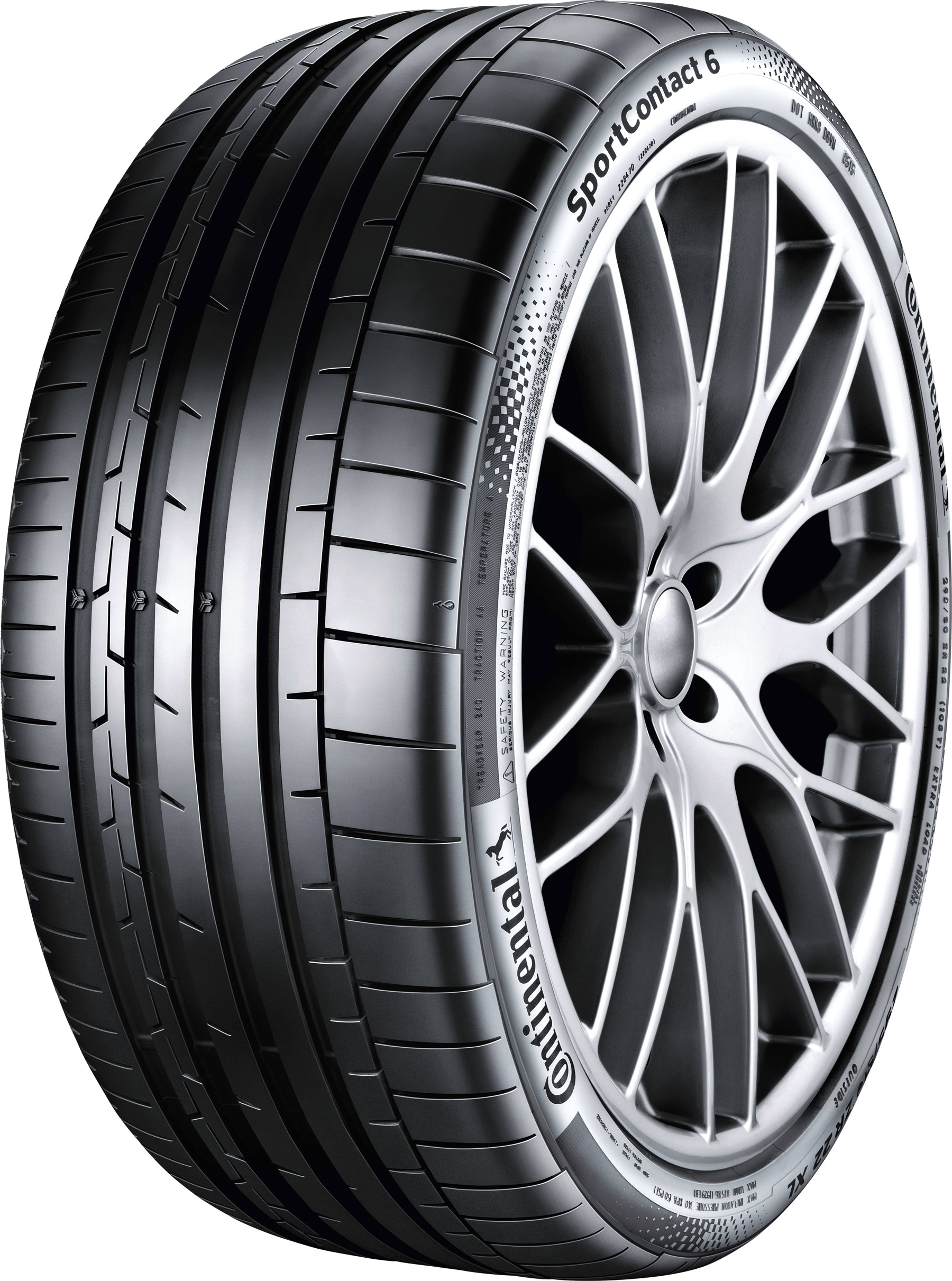Summer Tyre Continental Sport Contact 6 255/35R20 97 Y