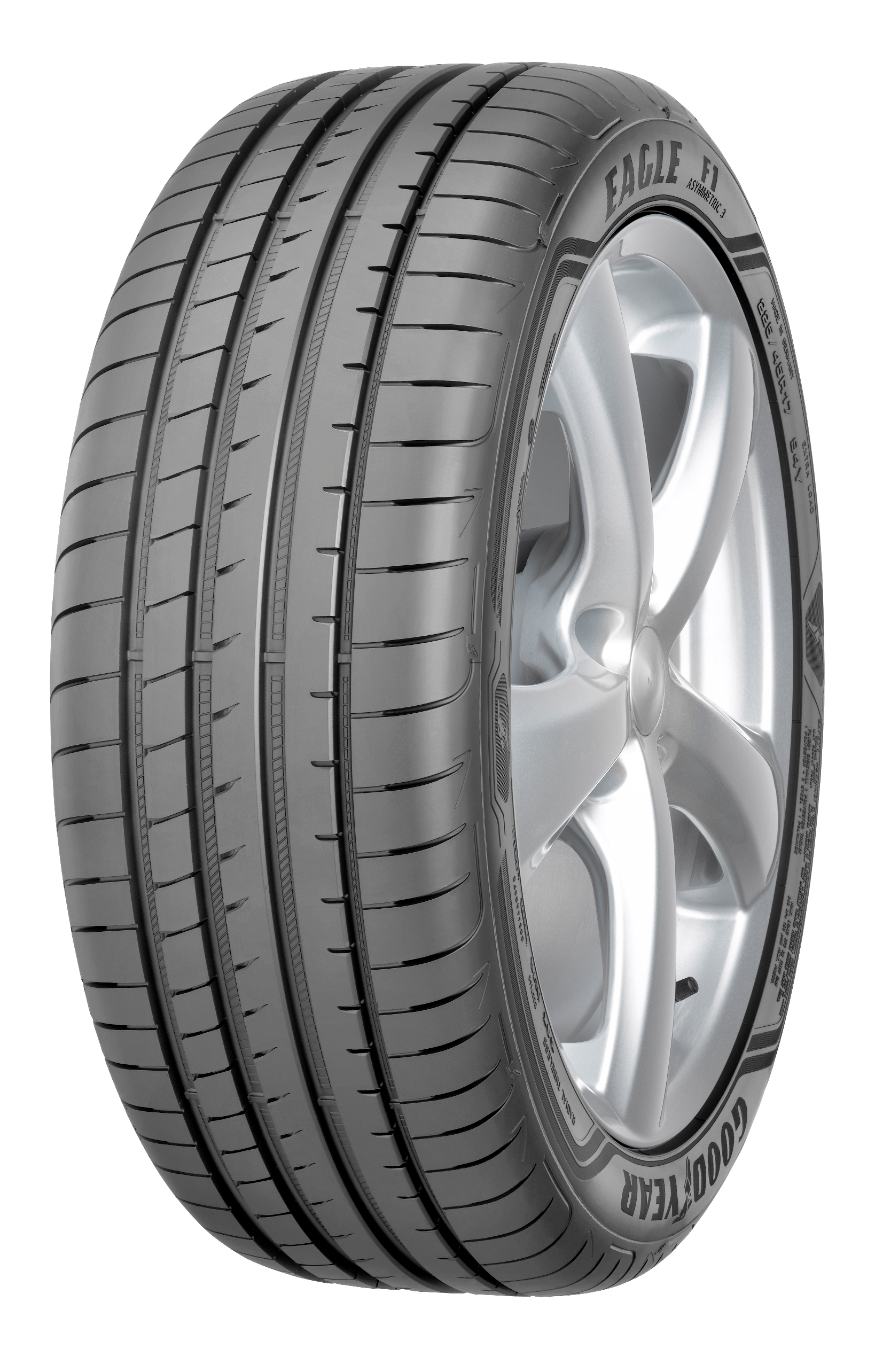 Summer Tyre Goodyear Eagle F1 Asymmetric 3 XL 205/45R18 90 V